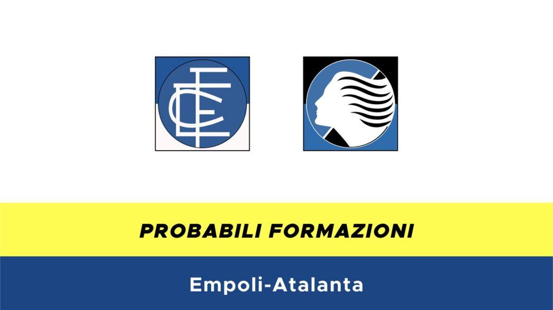 Empoli-Atalanta probabili formazioni
