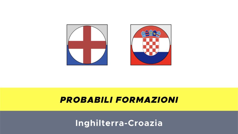 Inghilterra-Croazia probabili formazioni