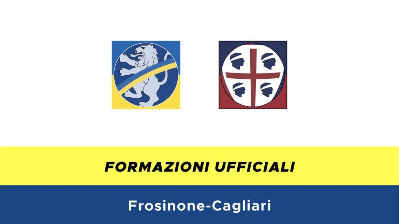 Frosinone-Cagliari formazioni ufficiali