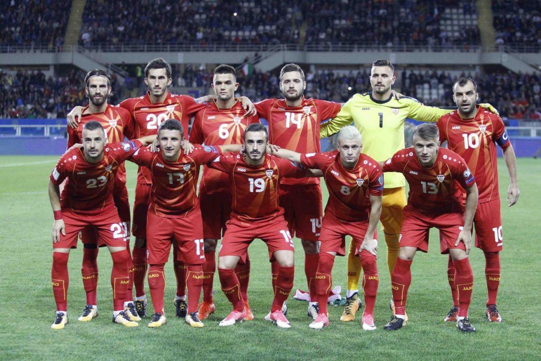 Macedonia-Gibilterra formazioni ufficiali