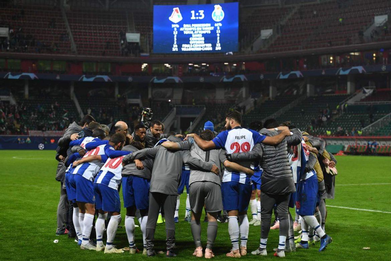 Porto-Shalke 04 formazioni ufficiali