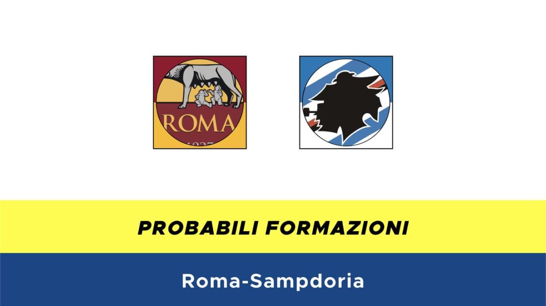 Roma-Sampdoria probabili formazioni