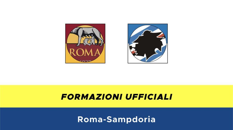 Roma-Sampdoria formazioni ufficiali