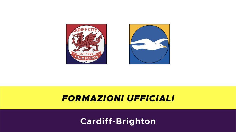 Cardiff City-Brighton formazioni ufficiali