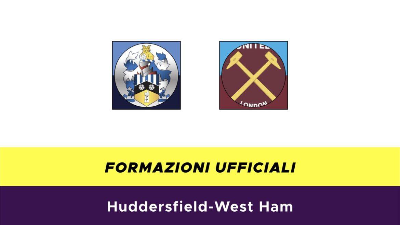 Huddersfield-West Ham formazioni ufficiali