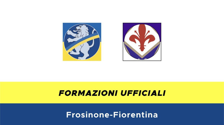 Frosinone-Fiorentina formazioni ufficiali