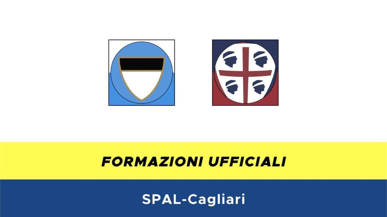 SPAL-Cagliari formazioni ufficiali