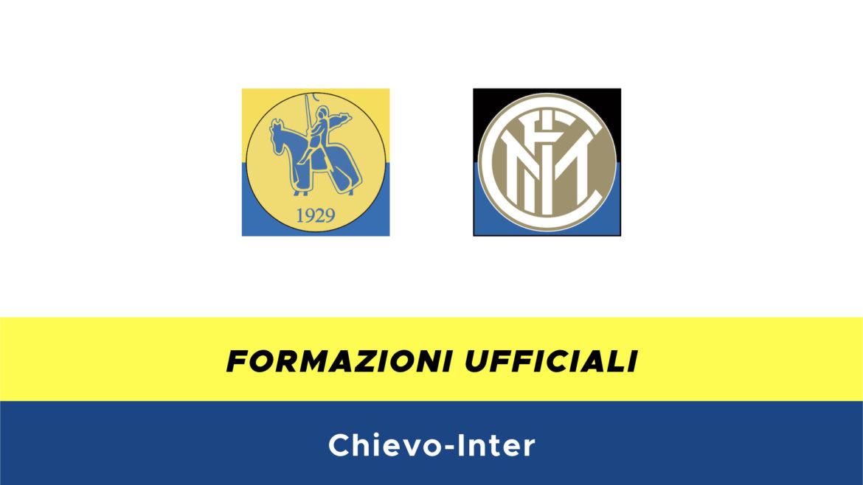 Chievo-Inter formazioni ufficiali