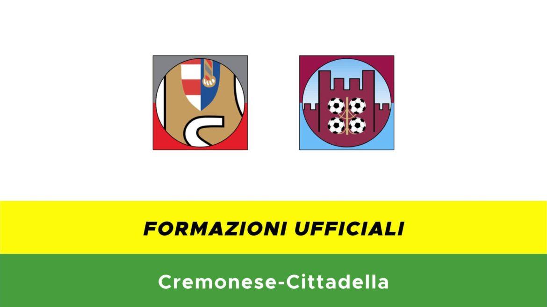 Cremonese-Cittadella formazioni ufficiali