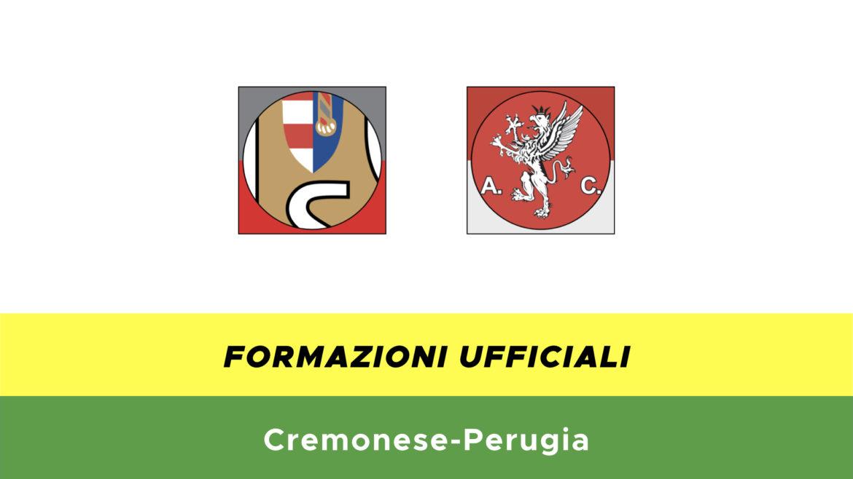 Cremonese-Perugia formazioni ufficiali