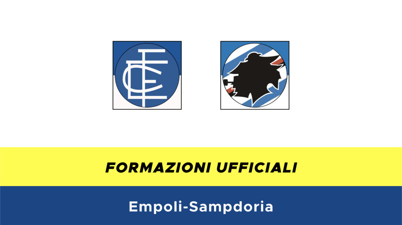 Empoli-Sampdoria formazioni ufficiali