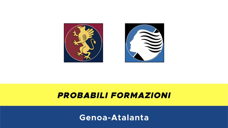 Genoa-Atalanta probabili formazioni
