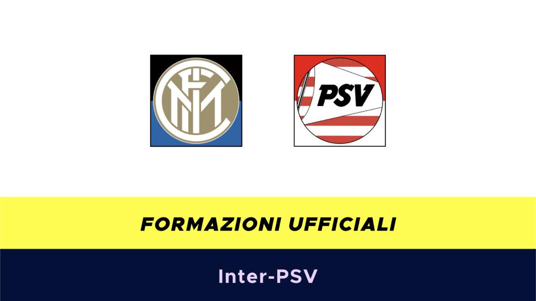 Inter-PSV formazioni ufficiali