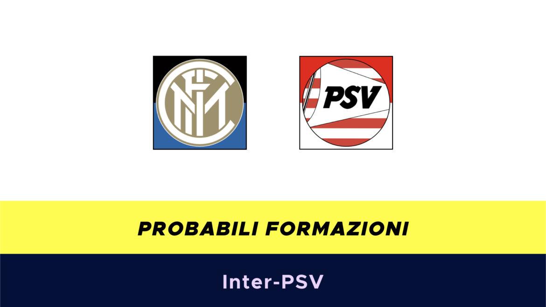 Inter-PSV probabili formazioni