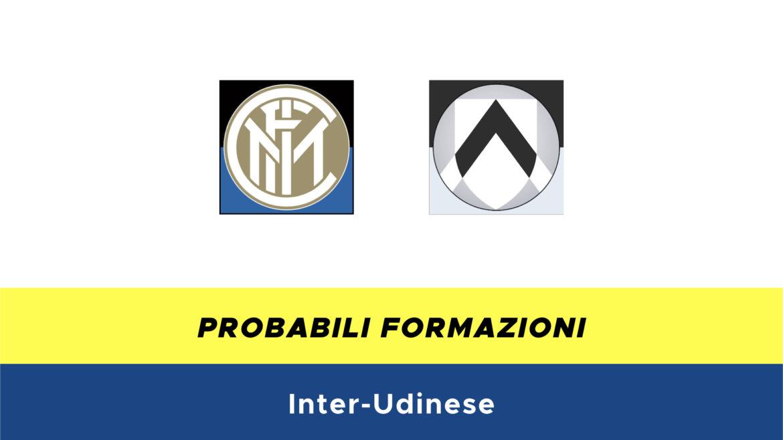 Inter-Udinese probabili formazioni