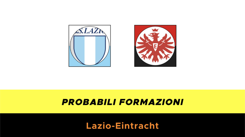 Lazio-Eintracht probabili formazioni