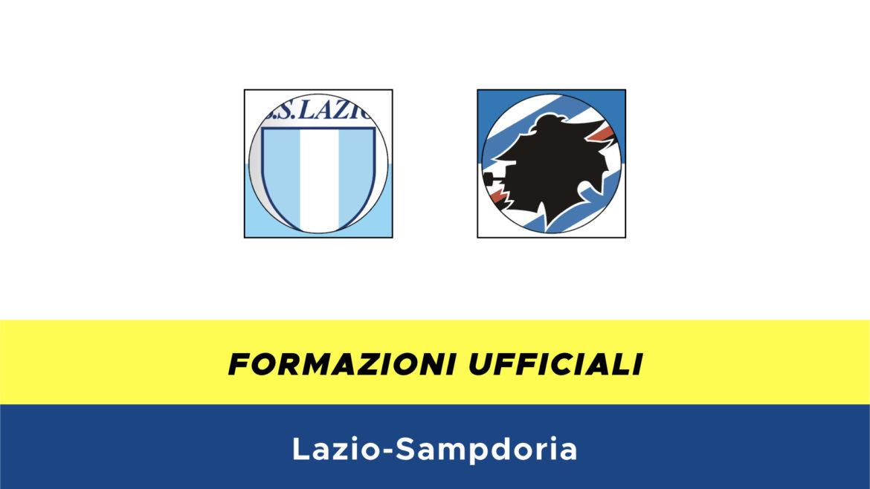 Lazio-Sampdoria formazioni ufficiali