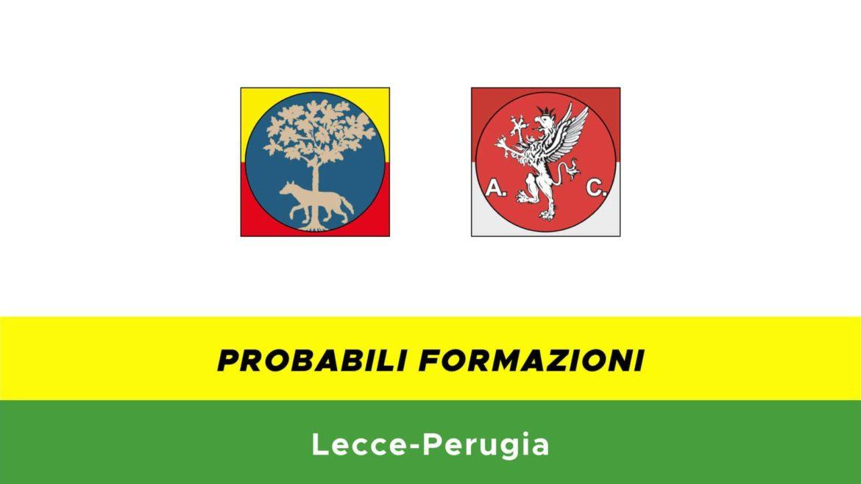 Lecce-Perugia probabili formazioni