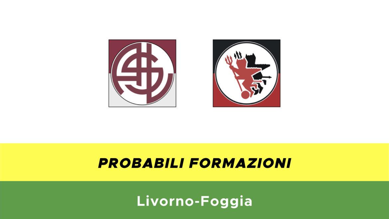Livorno-Foggia probabili formazioni