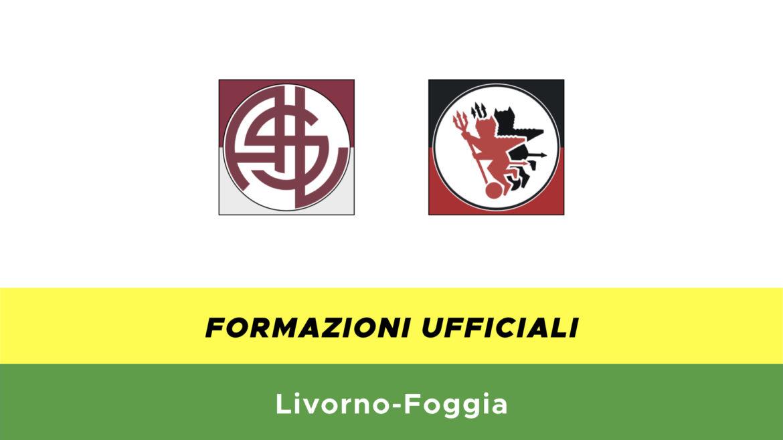 Livorno-Foggia formazioni ufficiali