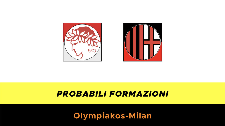 Olympiakos-Milan probabili formazioni