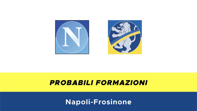 Napoli-Frosinone probabili formazioni