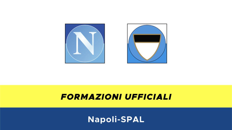 Napoli-SPAL formazioni ufficiali