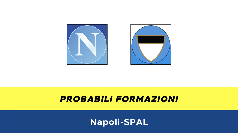 Napoli-SPAL probabili formazioni