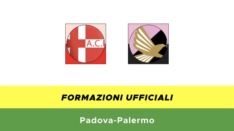 Padova-Palermo formazioni ufficiali