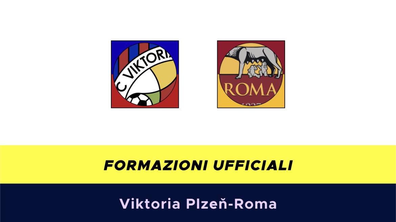 Viktoria Plzeň-Roma formazioni ufficiali