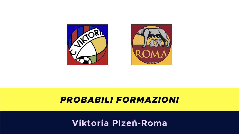 Viktoria Plzen-Roma probabili formazioni