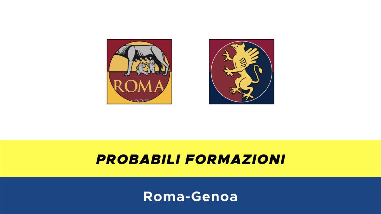 Roma-Genoa probabili formazioni