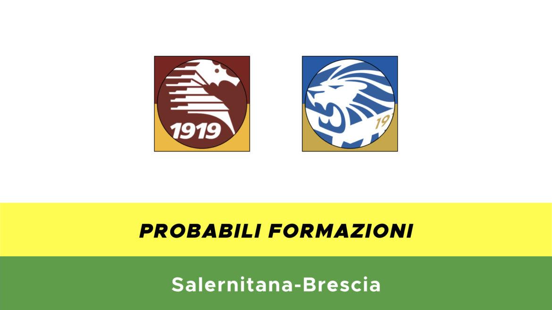 Salernitana-Brescia probabili formazioni