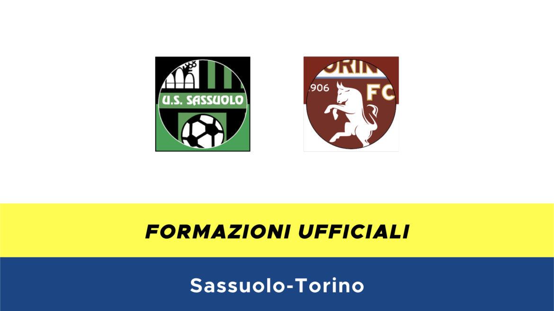 Sassuolo-Torino formazioni ufficiali