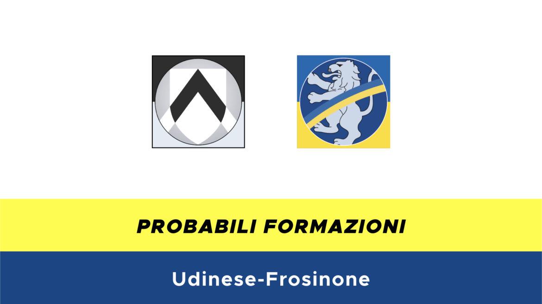 Udinese-Frosinone probabili formazioni