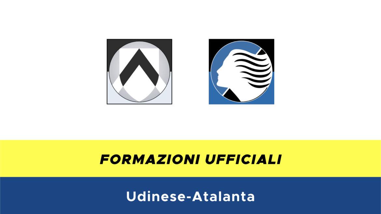 Udinese-Atalanta formazioni ufficiali
