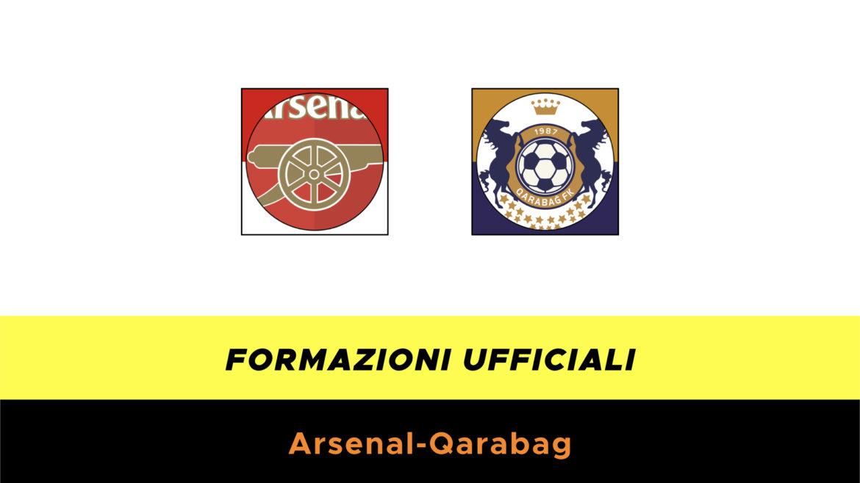 Arsenal-Qarabag formazioni ufficiali