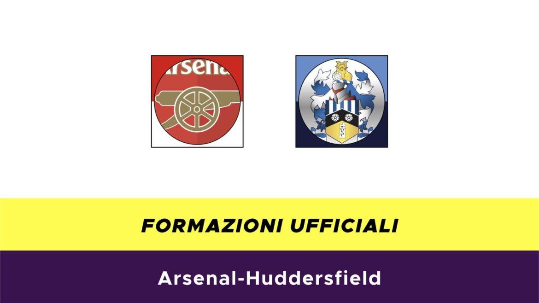Arsenal-Huddersfield formazioni ufficiali
