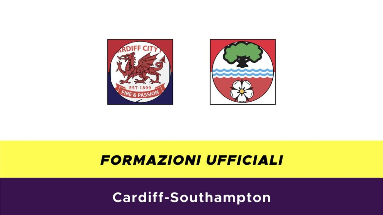 Cardiff-Southampton formazioni ufficiali