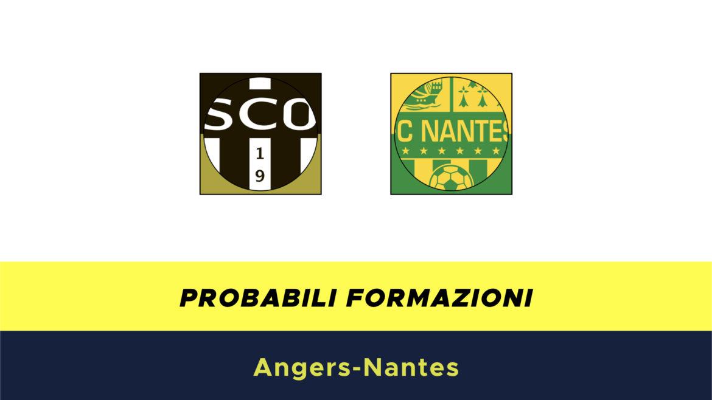 Angers-Nantes probabili formazioni