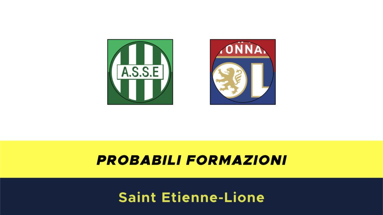 Saint Etienne-Lione probabili formazioni