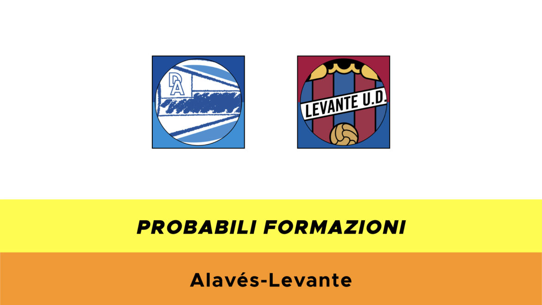 Alavés-Levante probabili formazioni