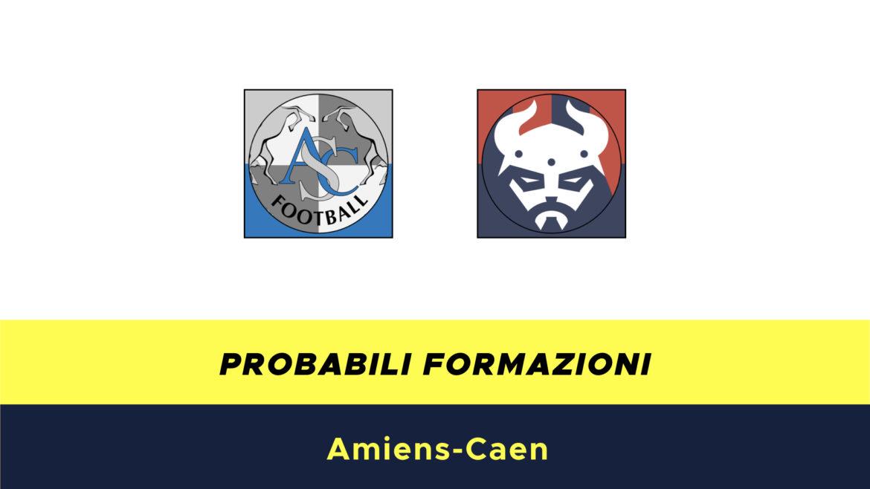 Amiens-Caen probabili formazioni