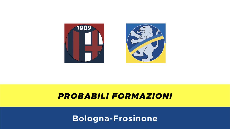 Bologna-Frosinone probabili formazioni