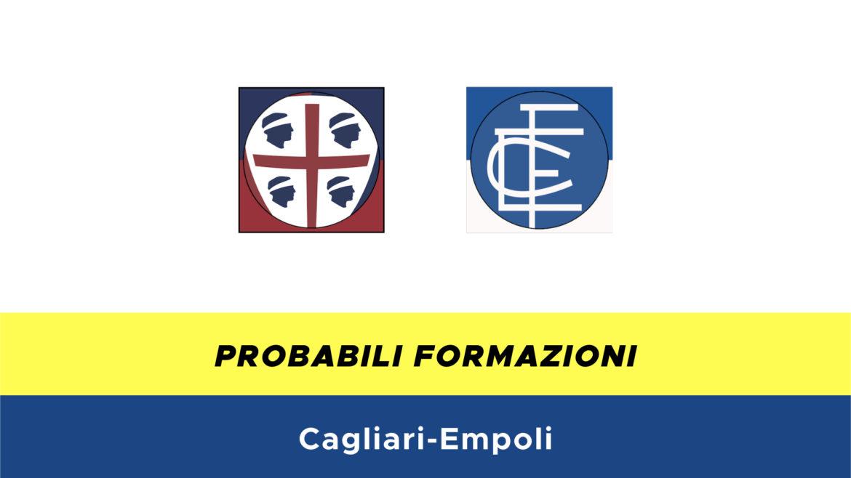 Cagliari-Empoli probabili formazioni