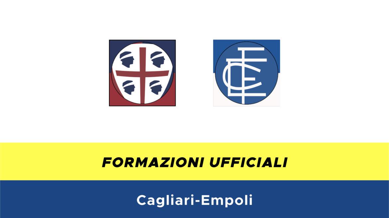 Cagliari-Empoli formazioni ufficiali
