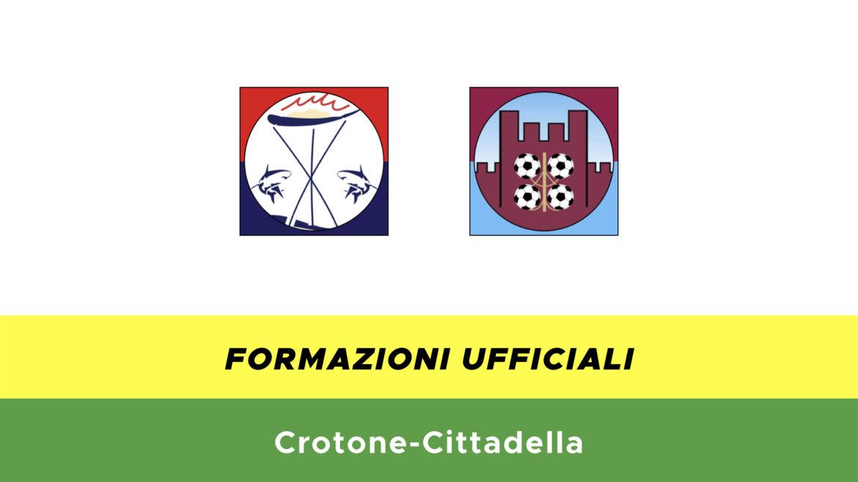 Crotone-Cittadella formazioni ufficiali