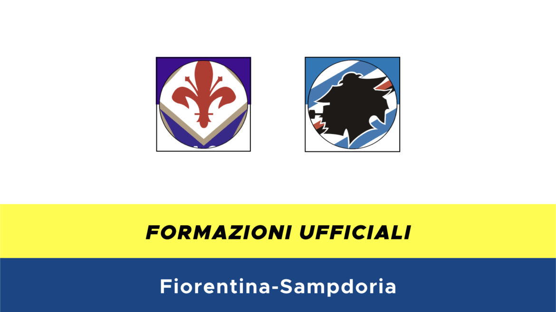 Fiorentina-Sampdoria formazioni ufficiali