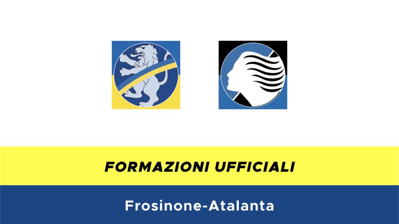 Frosinone-Atalanta formazioni ufficiali