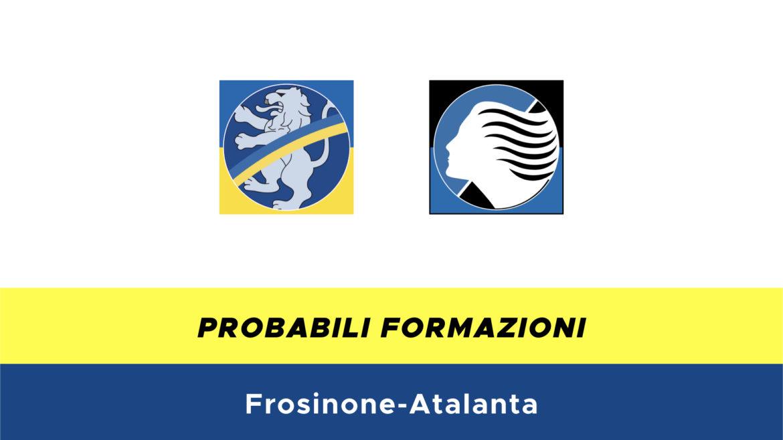 Frosinone-Atalanta probabili formazioni